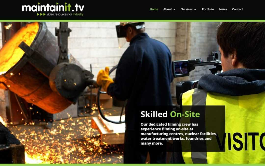 MaintainIT TV launches new website for technical video services